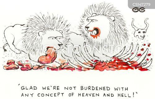 burdened cartoon