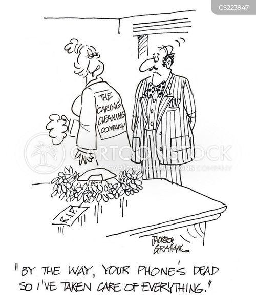 phone battery cartoon