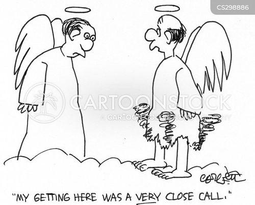 close calls cartoon