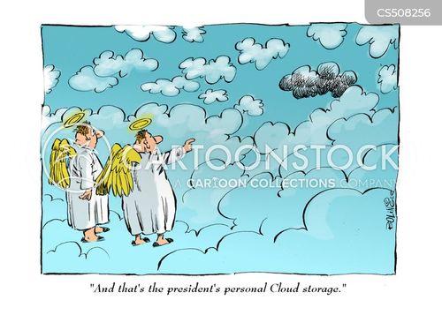 black cloud cartoon
