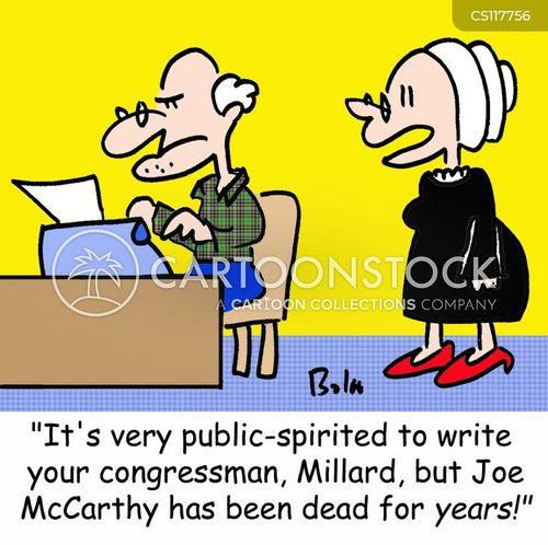 public-spirited cartoon