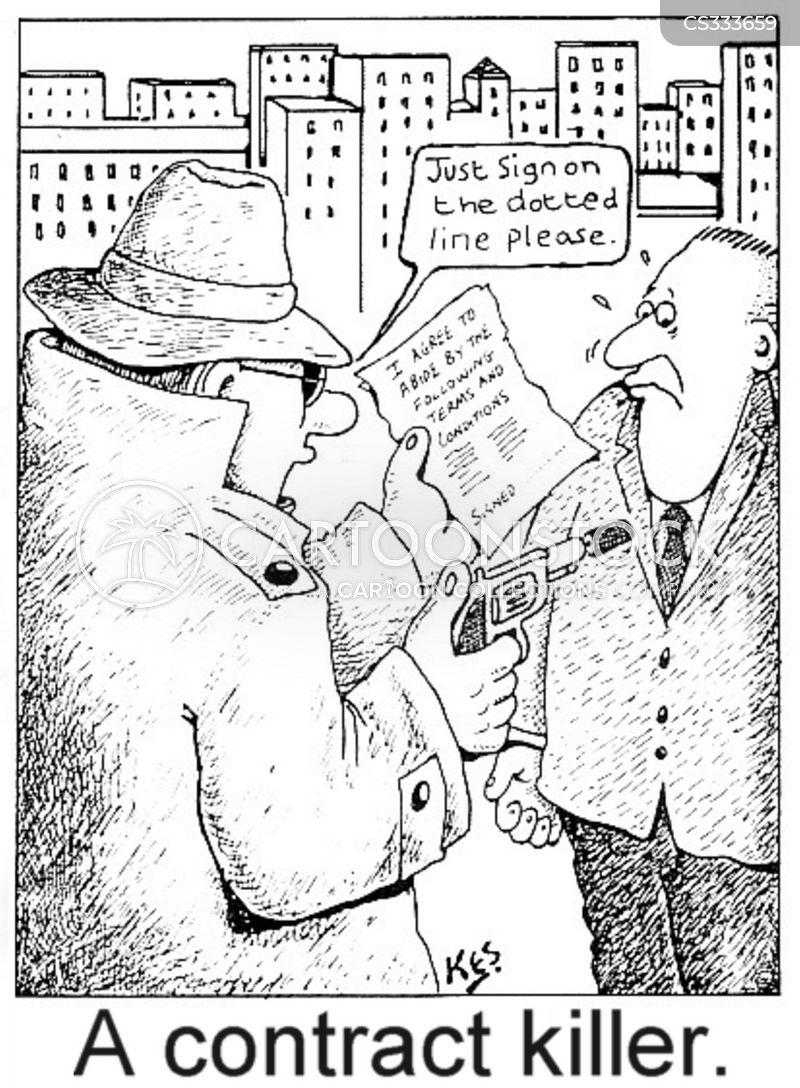 dotted line cartoon
