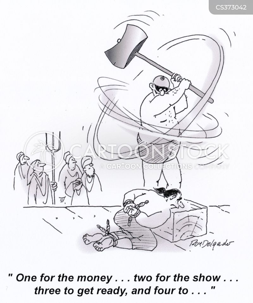 suspenseful cartoon