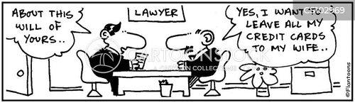 bequeaths cartoon