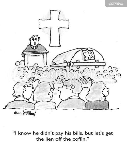 debtor cartoon