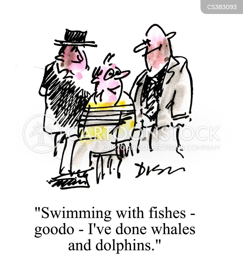 Swim with the fishes cartoons and comics funny pictures for Swimming with the fishes