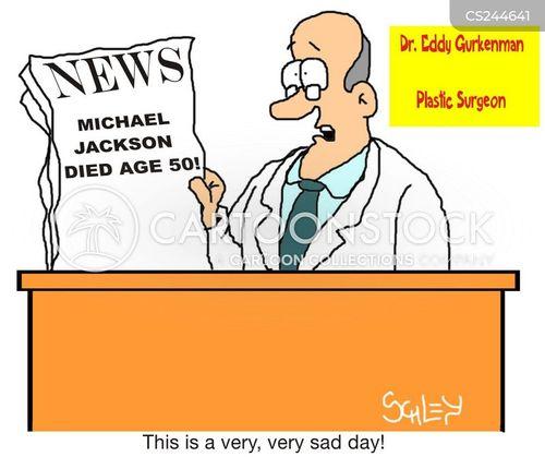 breakign news cartoon