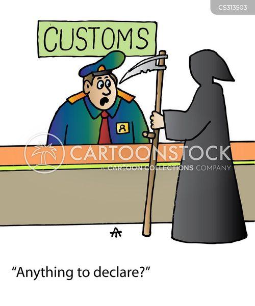 declare cartoon