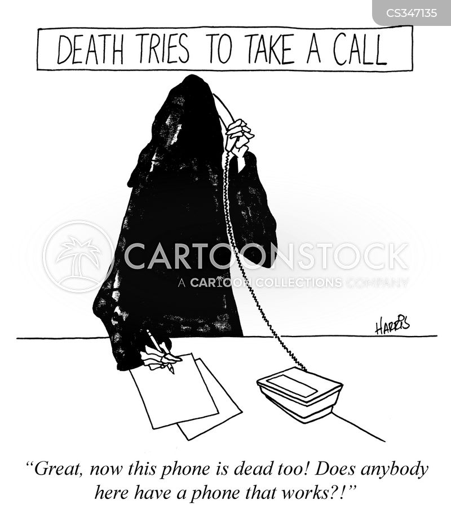 telephone messages cartoon