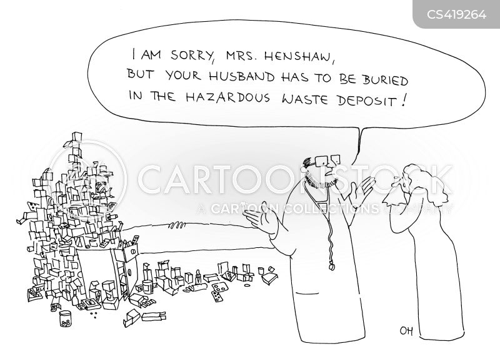 hazardous material cartoon