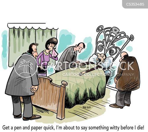 ailing cartoon