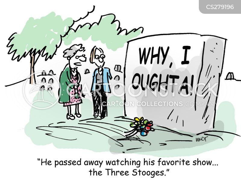 died as he lived cartoon