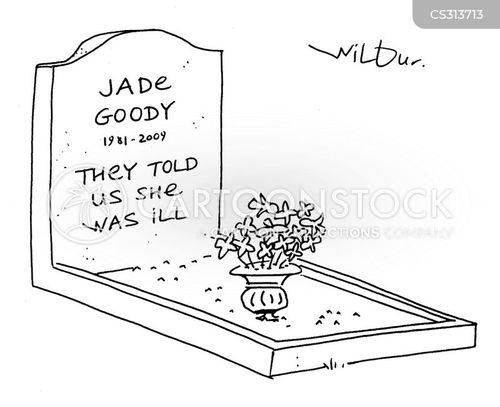 celebrity deaths cartoon