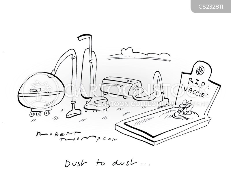 dust to dust cartoon