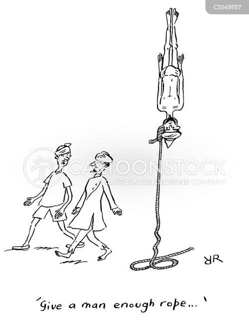 rope trick cartoon