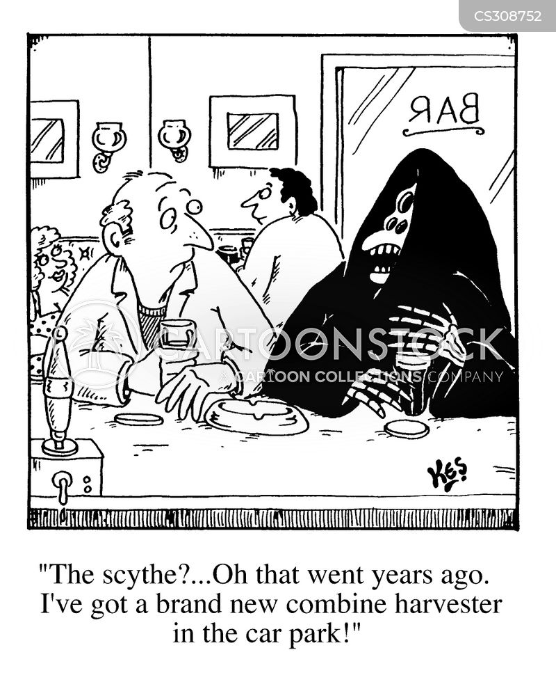 Grimreaper Cartoons And Comics Funny Pictures From