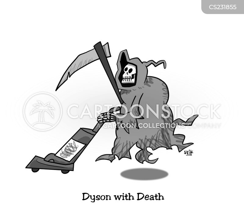 dicing with death cartoon