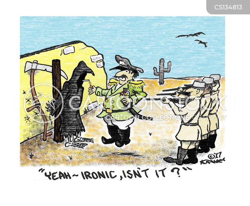 ironic situations cartoon