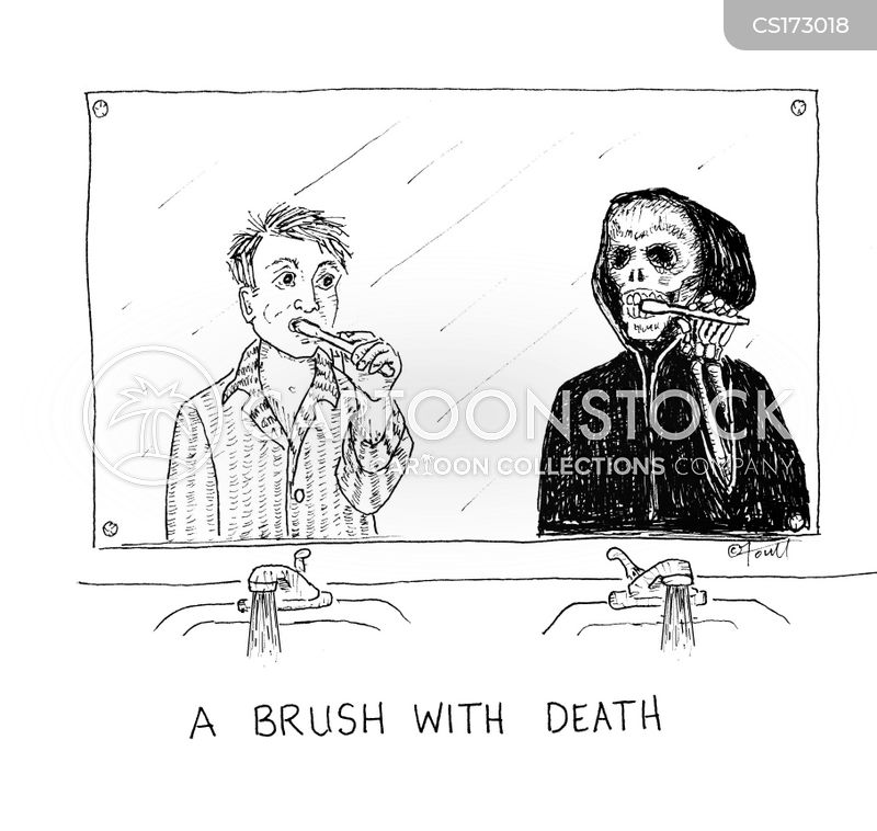 brush cartoon