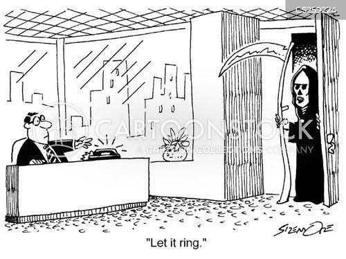 visitations cartoon