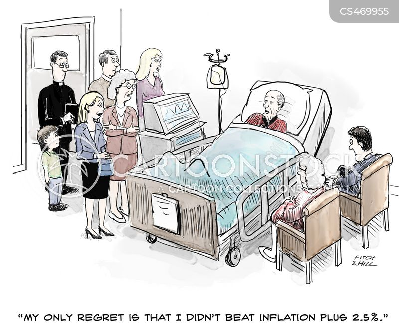 death-beds cartoon
