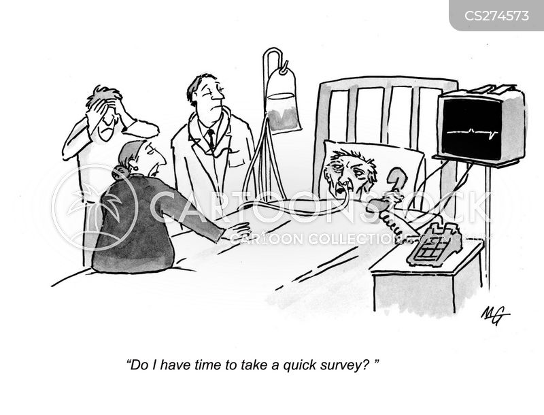 market analyses cartoon