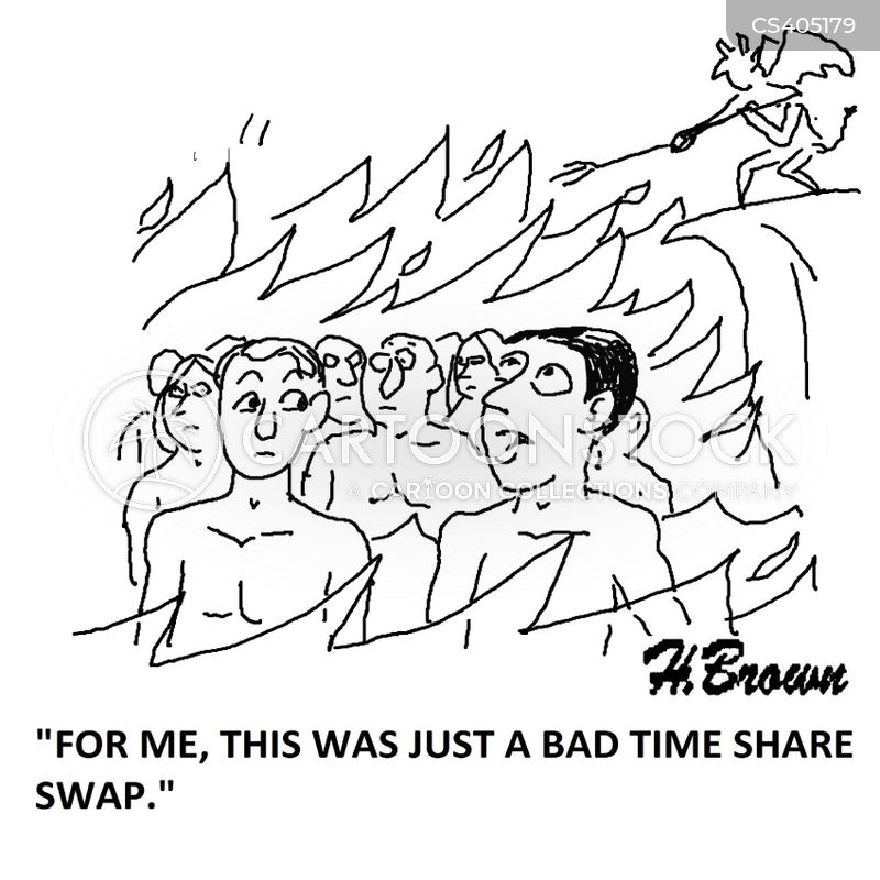 time share cartoon