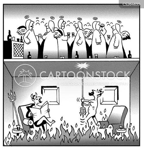 neigbor cartoon