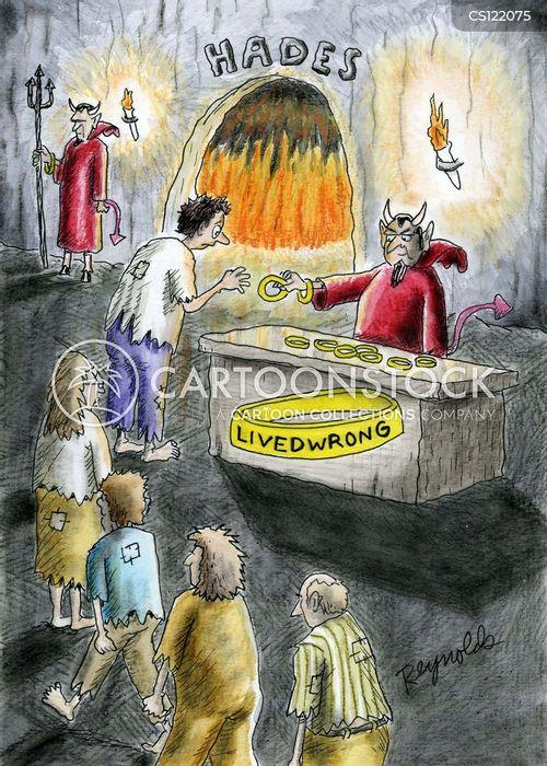 eternal punishments cartoon