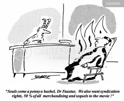 faustus cartoon