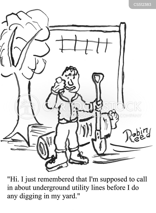 gas lines cartoon