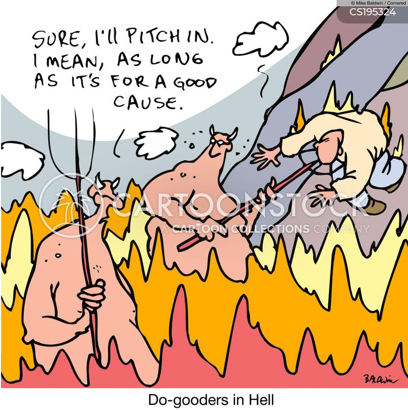 do gooder cartoon