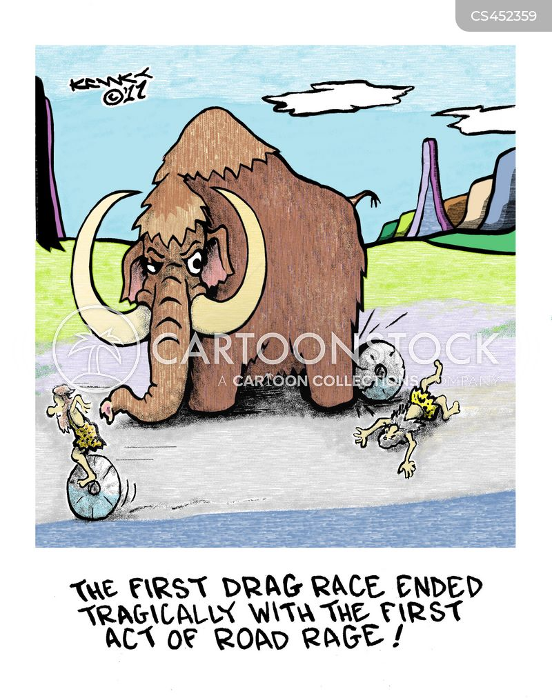 drag races cartoon
