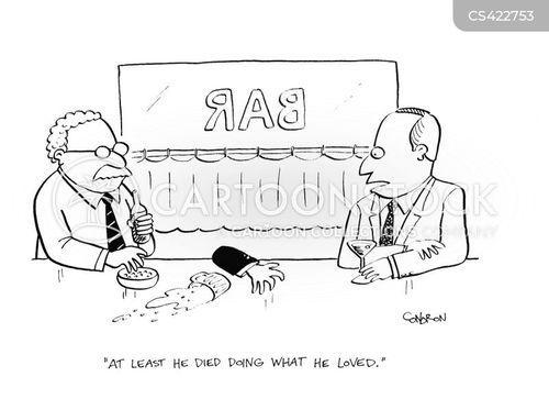 alcohol poisoning cartoon