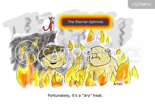 eternal optimist cartoon