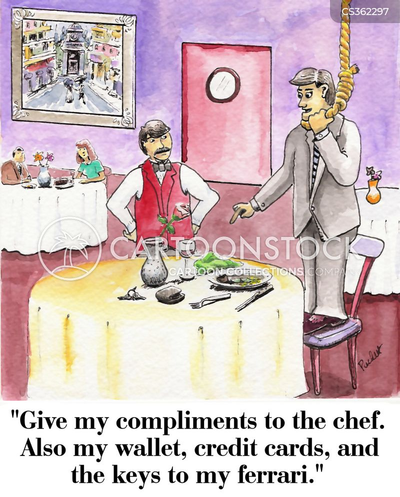 compliments to the chef cartoon