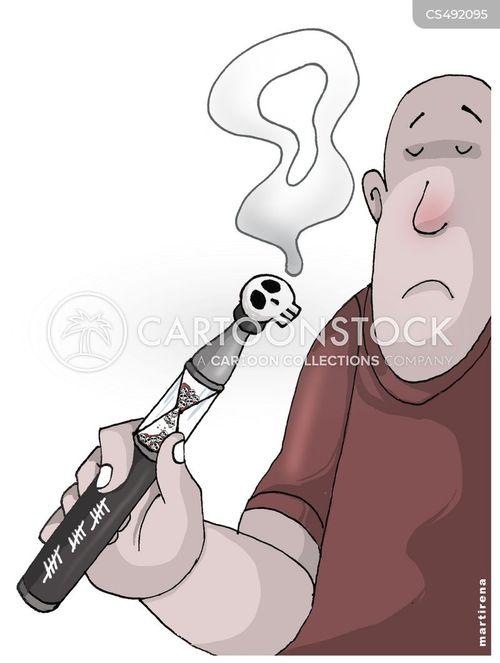 vaping risks cartoon