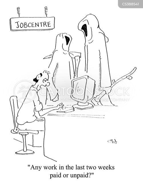 jobcentre cartoon
