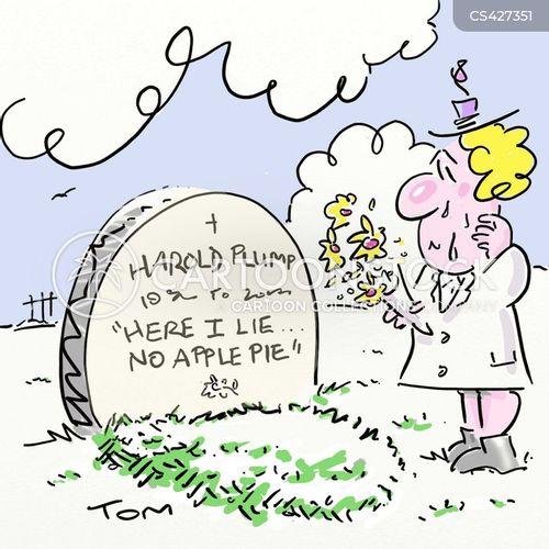 apple pies cartoon