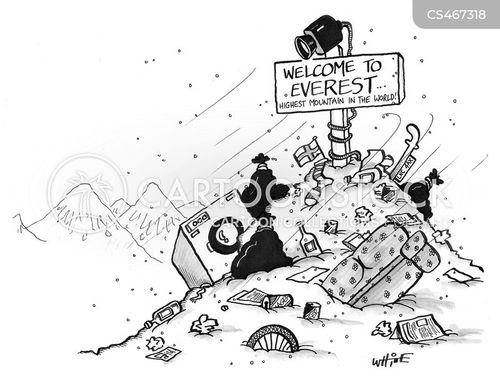 human detritus cartoon