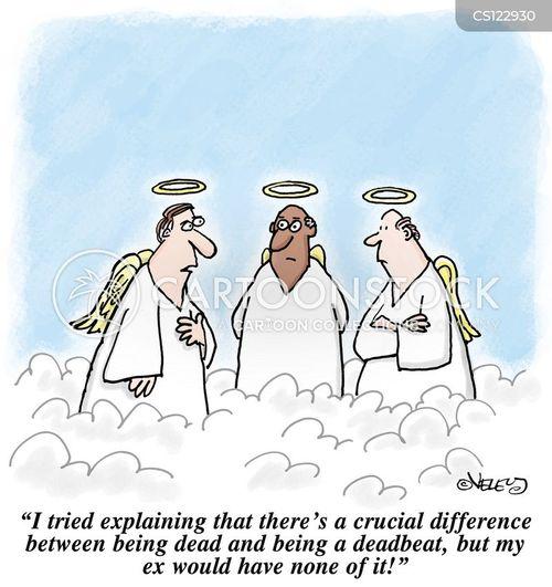 deadbeat cartoon