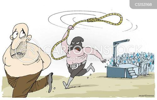 hangman cartoon