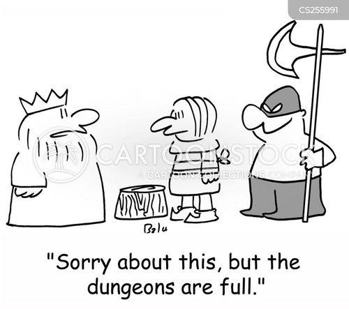 exeuctioner cartoon