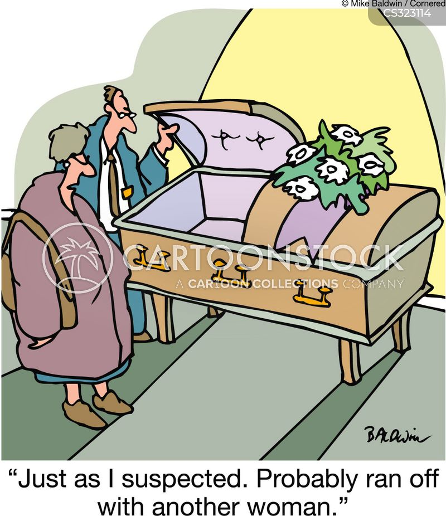 fake death cartoon