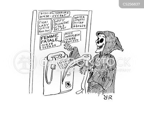 femme fatale cartoon