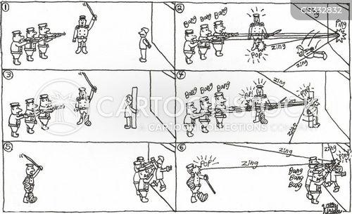 court marshals cartoon