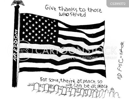 federal holiday cartoon