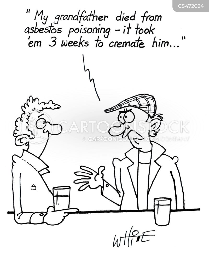 asbestos cartoon