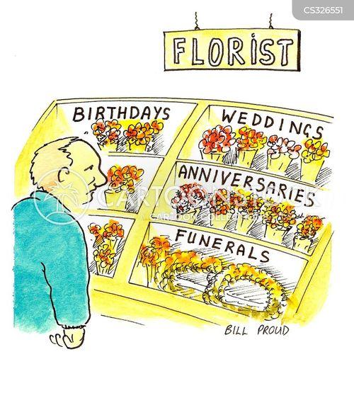 florist shops cartoon