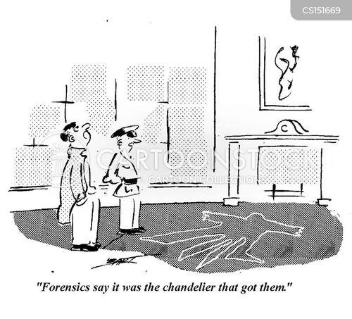 chandelier cartoon